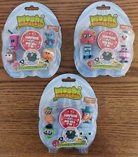 New Moshi Monster - Series 4 - blister pack with 5 characters