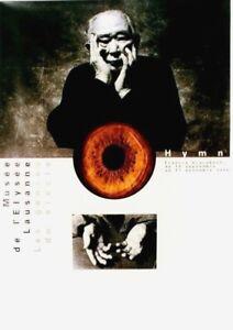 Original vintage poster PHOTO EXPO HYMN AKIRA KUROSAWA 1996