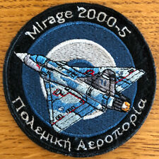 Greece Hellenic Air Force Mirage 2000-5 patch with h&l