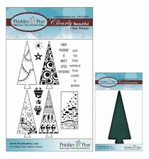 Prickley Pear Christmas Tree Clear Stamp and Die Set - CLR009 PPRS-D009
