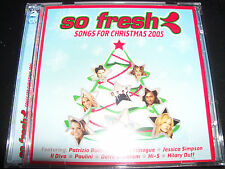 So Fresh Songs For Christmas 2005 CD Ft Kylie Minogue Hilary Duff Hi-5 Ill Divo