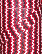 "5YDS 7/8"" RED BLACK WHITE GLITTER ZIG ZAG CHEVRON MINNIE MICKEY GROSGRAIN RIBBON"