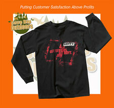 New M HOYT Get Serious Long Sleeve Tee T-Shirt - Carbon Element Vector Bow