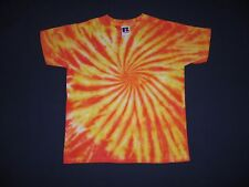 "Tie Dye Childrens Unisex Russell Jerzees Cotton T.Shirt size 30""-32""Chest"