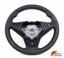 BMW E60 E61 E63 E64  M Lenkrad Sportlenkrad neu beziehen mit Leder AR.: 656