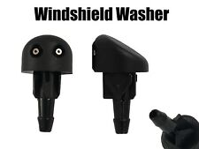 2x Windshield Washer For Renault Clio Mk2 Front Nozzle Water Jets Black Plastic