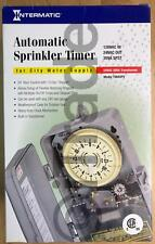 Intermatic T8845PV Automatic Indoor/Outdoor Sprinkler Timer NEW Free Shipping