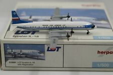 Herpa Wings 1:500 LOT Polish Airlines Ilyushin IL-18 (510561)