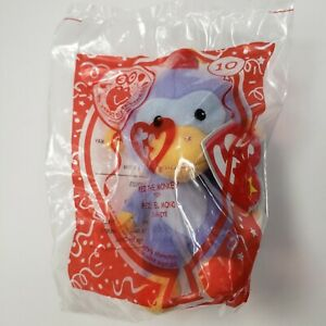 2009 McDonalds Happy Meal Toy TY Teenie Beanie Fez The Monkey #10 New In Package