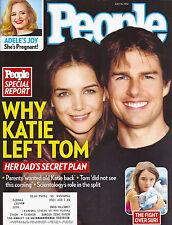 Katie Holmes & Tom Cruise, Casey Anthony, Nora Ephron - July 16, 2012 People