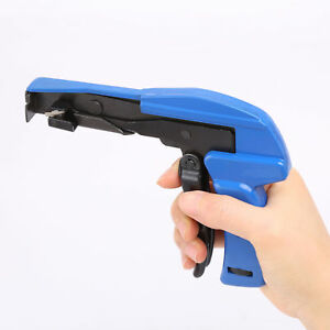 Industrial Zip Tie Gun Tension Fastening Tool 1 Motion Tie /Cut Off Cable Ties