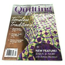 Fons & Porters Love Of Quilting January/February 2020 Magazine New
