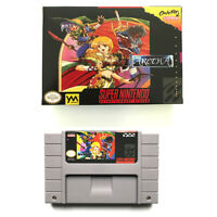 Aretha for snes game cartridge english translated