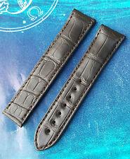 NUOVA OMEGA ORIGINALE 20mm Marrone Alligator 98000276 Aqua Terra Cinghia di Distribuzione