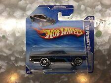 Hot Wheels - Nightburnerz #6/10 - '70 Plymouth Road Runner - Silver - Short Card