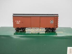 Bachmann Spectrum #27023 On30 Colorado & Southern Box Car #1215 - Boxed