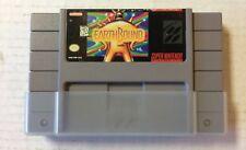 "Super NES Cartridge Earthbound ""Tested "" Works Fine"