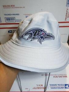 Baltimore Ravens New Era Fishermans Bucket Hat Grey NFL M/L