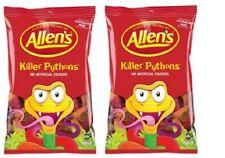 Allens Killer Pythons x 2kg Candy Buffet Jelly Snakes Party Favors Bulk Lollies
