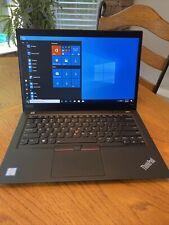 """New listing Lenovo Thinkpad T490s i5-8265u 1.6Ghz 256Gb Ssd 8Gb 14"""" Fhd Ips Bl Fpr W-10 Pro"""