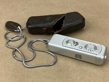 Minox III 1955 subminiature Camera w/ Complan 15mm Lens and case - Cute & Small