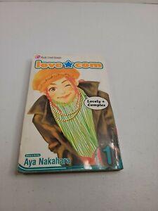 Love Com  Volume 1 English Aya Nakahara RARE FREESHIPPING