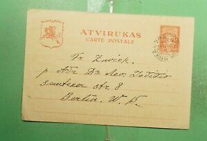 DR WHO 1932 LITHUANIA KAUNAS POSTAL CARD TO GERMANY  g02943