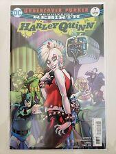 HARLEY QUINN #7 (2017) DC UNIVERSE REBIRTH COMICS AMANDA CONNER COVER ART NM