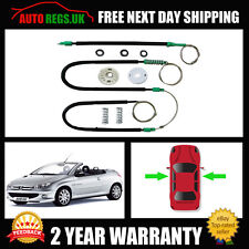 PEUGEOT 206CC CABRIOLET WINDOW REGULATOR REPAIR KIT FRONT OSF Right  2000-2008