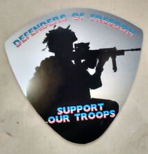 Support Our Troops Defenders of Freedom Decal (new)