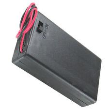 4 St. Batteriehalter 3x Micro AAA LR03 geschlossen Ein-Ausschalter incl De Vers