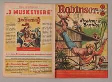cgb ROBINSON Nr. .5 * Crusoe - Abenteuer in Brasilien * Willi Kohlhoff * Z 1-2