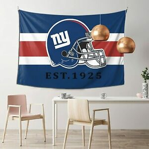 New York Giants Tapestry Wall Hanging Cover Dorm Home Decor Living Room Poster
