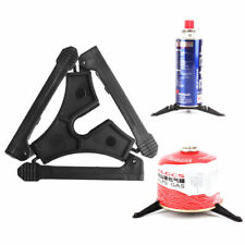 Outdoor  Folding Camping Hiking Cooking Gas Tank Bracket Canister Stand Tripod