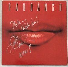 """Autographed Fandango """"Last Kiss"""" Vinyl Joe Lynn Turner (Rainbow, Deep Purple)"""