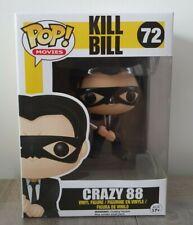 Funko Pop Movies Kill Bill #72 Crazy 88 MINT Vaulted + Box Protector