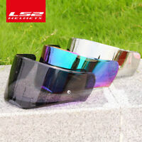 Helmet Colorful Lens Visor FOR FF390 Smoke Silver Rainbow Shield