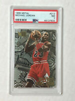 MICHAEL JORDAN 1995-96 Metal Nuts & Bolts SP #212! PSA NM 7! BULLS! HUGE SALE!