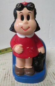 Little Lulu Vintage Plastic Toy Bank Play Pal Plastics