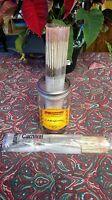 "25 Genuine Wild Berry 11"" Carnival incense sticks sealed in a plastic wrapper."