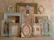 Shabby Ornate Open Picture Frames Vintage Style~Wedding~Roses Romantic Lot 9