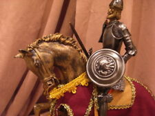 Knight In Shining Armor On Horseback W/Sword. 'El Cid'. Spain. New In Box