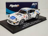Slot car Scalextric Fly Flyslot Ref. 044102 Porsche 934 #55 24h. Le Mans 1977