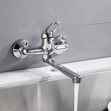 Wasserhahn Küchenarmatur Spültischarmatur Einhebelmischer Wand Montiert DE