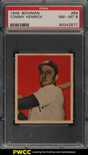1949 Bowman Tommy Henrich #69 PSA 8 NM-MT (PWCC)