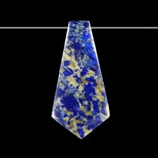Lapis Lazuli 65x32x6 mm Pendant bead GJ832038