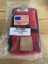 New listing Dart Master Solo Case Brand New Old Stock In Sealed Bag RED