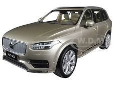 2015 2016 VOLVO XC90 LUMINOUS METALLIC SAND 1/18 DIECAST ULTIMATE DIECAST 88191