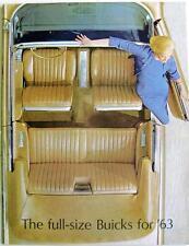 BUICK Range for 1963 - Car Sales Brochure - 1963 - #63 EX-BUICK-E