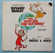 ANTHONY NEWLEY ~ GOOD OLD BAD OLD DAYS (LONDON CAST) ~ 1973 UK 12-TRACK VINYL LP